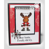 Dear Santa, I Tried Cling Stamp by Riley & Co. - Kat Scrappiness