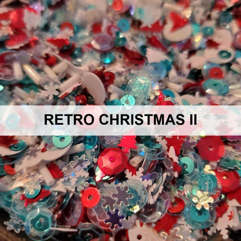 Retro Christmas II Sequin Mix