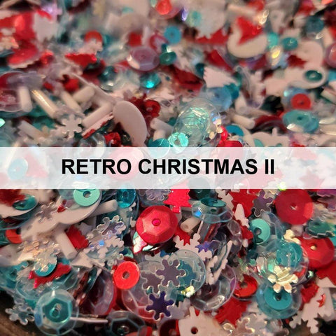 Retro Christmas II Sequin Mix - Kat Scrappiness