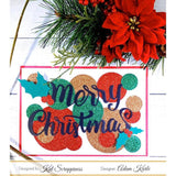 Merry Christmas w/Shadow Die by Kat Scrappiness - Kat Scrappiness