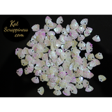Mini Pearlescent Seashell Sequins by Kat Scrappiness - Kat Scrappiness