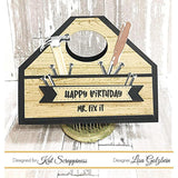 "Dad's Tools - 6""X8"" Layered Stamp Set by Kat Scrappiness"