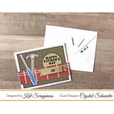 "Dad's Tools - 6""X8"" Layered Stamp Set by Kat Scrappiness - Kat Scrappiness"