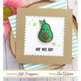 """You Guac My World"" Stamp Set by Kat Scrappiness"