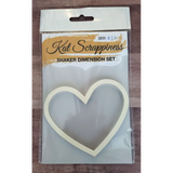 Medium Heart Shaker Card Kit by Kat Scrappiness - 026 - Kat Scrappiness