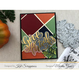 Embossed Edge Square Dies by Kat Scrappiness - PRE-ORDER/RESERVE YOURS NOW!