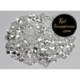6mm Crystal Clear Flower Blossom Sequins Shaker Card Fillers - Kat Scrappiness