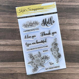 """Friendship Greetings"" Stamp Set by Kat Scrappiness - Kat Scrappiness"
