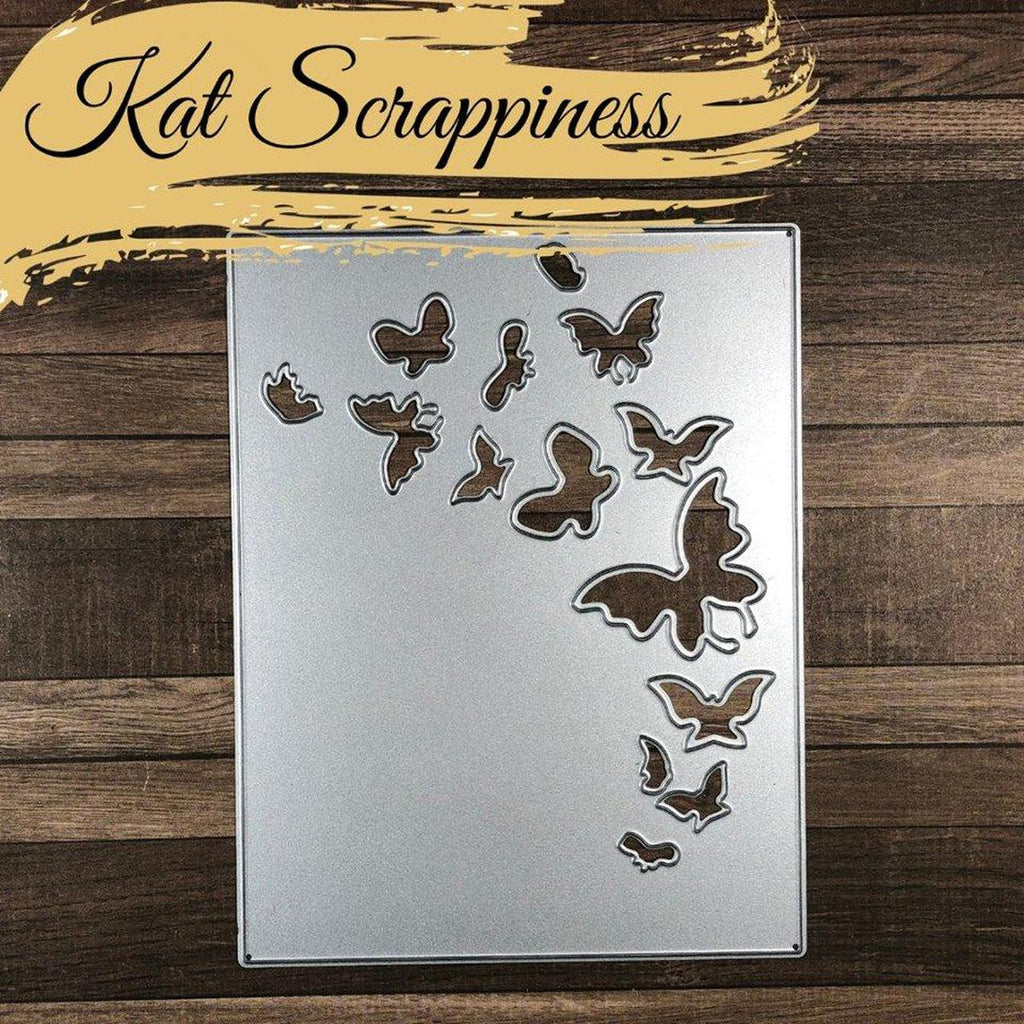 Butterfly Backdrop Die by Kat Scrappiness