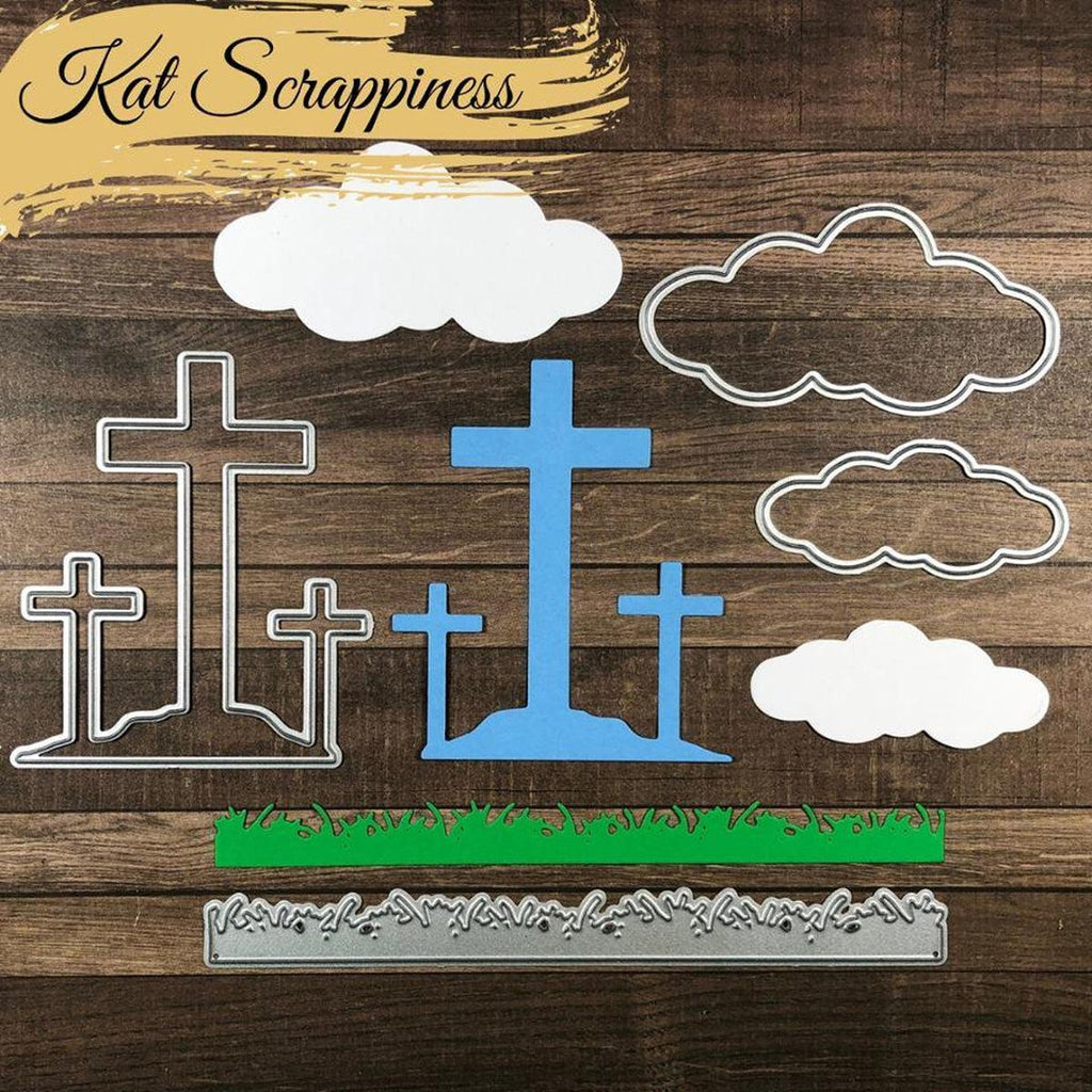 He Is Risen Dies by Kat Scrappiness - Kat Scrappiness