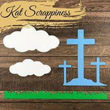 He Is Risen Dies by Kat Scrappiness
