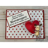 Master Shenanigans Cling Stamp by Riley & Co - Kat Scrappiness