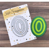 Zig Zag Oval Dies by Kat Scrappiness
