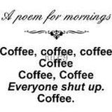 A Poem For Mornings Cling Stamp