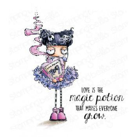 Love Potion Oddball Cling Stamp by Stamping Bella - Kat Scrappiness