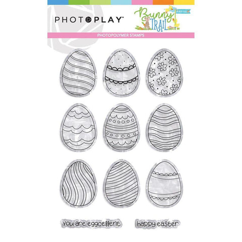 Egg 4x6 Clear Stamps by PhotoPlay - Kat Scrappiness