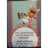 Craftaholic Cling Stamp by Riley & Co - Kat Scrappiness