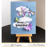 Stitched Cloud Backdrop Die by Kat Scrappiness - Kat Scrappiness