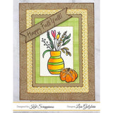 """Happy Fall Y'all"" Stamp Set by Kat Scrappiness"