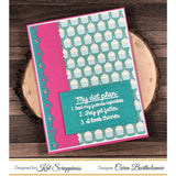 """Cheat Day"" Stamp Set by Kat Scrappiness"