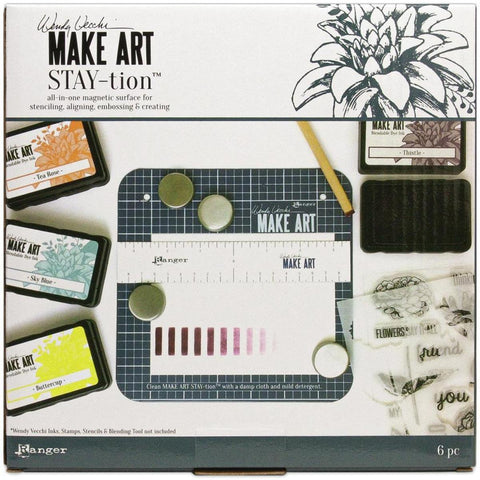"Wendy Vecchi MAKE ART Mini Stay-tion 7"" - Kat Scrappiness"