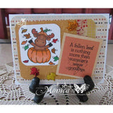 A Fallen Leaf Cling Stamp by Riley & Co