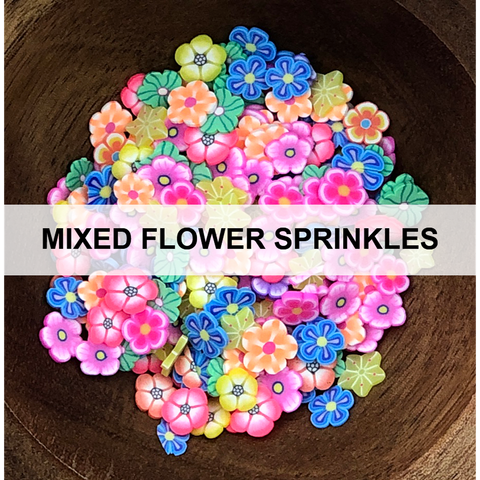 Mixed Flower Sprinkles