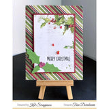 Holly Leaves & Berries Dies by Kat Scrappiness - Kat Scrappiness