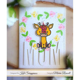 Lola the Giraffe 3x4 Clear Stamps by Kat Scrappiness - Kat Scrappiness
