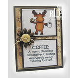 Hating Everybody Cling Stamp by Riley & Co - Kat Scrappiness