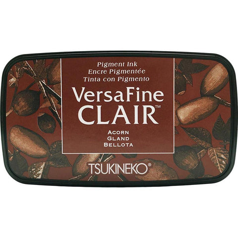 Versafine Clair Ink Pad - Acorn - Kat Scrappiness