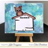 Owl Envelope Art Stamp Set by Kat Scrappiness - Kat Scrappiness