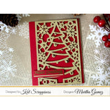 Christmas Tree Coverplate Die by Kat Scrappiness