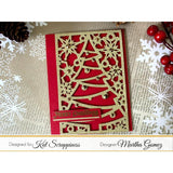 Christmas Tree Coverplate Die by Kat Scrappiness - Kat Scrappiness
