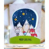 """Merry Critters"" Stamp Set by Kat Scrappiness"