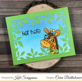Foliage Frame Die by Kat Scrappiness - Kat Scrappiness