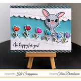 """Hoppy For You"" Stamp Set by Kat Scrappiness - Kat Scrappiness"