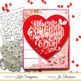 Red Heart Sprinkles by Kat Scrappiness - Kat Scrappiness