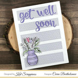 Stitched Sentiment Strips Dies by Kat Scrappiness - Kat Scrappiness