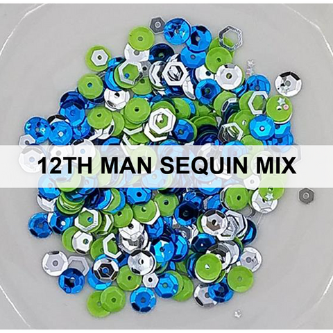 12th Man Sequin Mix - Kat Scrappiness