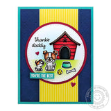 "Quilted Hearts 6""x6"" Embossing Folder by Sunny Studio Stamps - Kat Scrappiness"