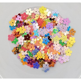 Mixed Flower Sequins (Flat) - Shaker Card Fillers - NEW!