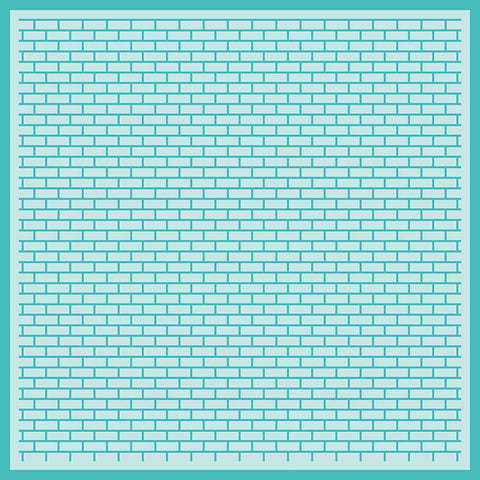 Perfect Bricks Background Stencil by Honeybee Stamps - Kat Scrappiness