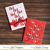 """Ho! Ho! Ho!"" Brush Script Word & Sentiment Die by Kat Scrappiness - Kat Scrappiness"