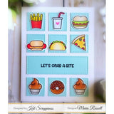 Punny Snacks Stamp Set by Kat Scrappiness - Kat Scrappiness