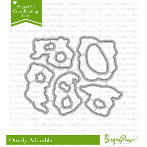 Otterly Adorable Coordinating Dies by Sugar Pea Designs - Kat Scrappiness