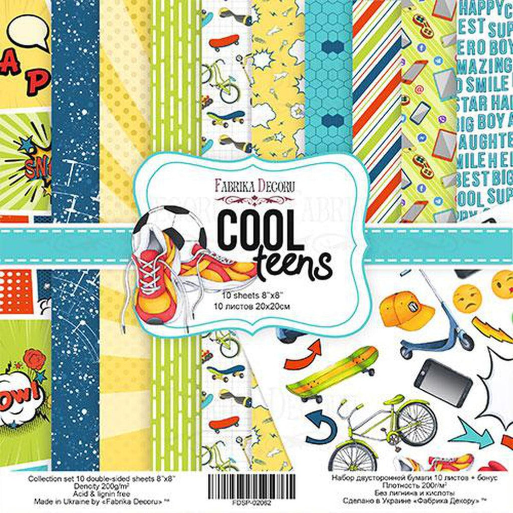 Cool Teens Card/Scrapbooking Kit - Kat Scrappiness