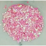 3mm Pink Solid Star Confetti - Kat Scrappiness