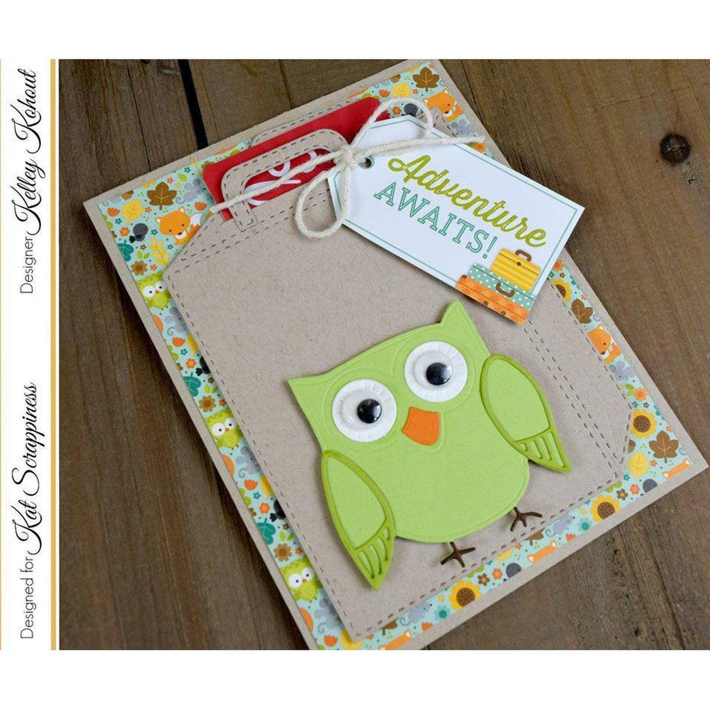 Cute Layered Owl Die Set by Kat Scrappiness