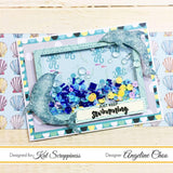 Stitched Dolphins Die Set by Kat Scrappiness